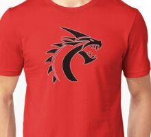 Simple Dragon -Black- Unisex T-Shirt