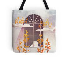 Outside The Window Tote Bag