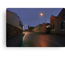 New Road, Kidderminster Canvas Print