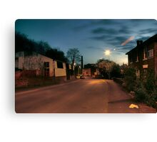Park Lane by Castle Road, Kidderminster Canvas Print