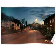 Park Lane by Castle Road, Kidderminster Poster