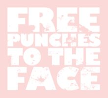 Free punches to the face Kids Tee