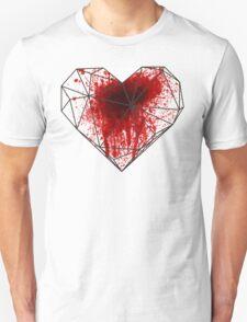 Geo Heart Spatter Unisex T-Shirt