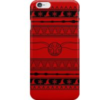 Harry Potter Ugly Christmas Sweater iPhone Case/Skin