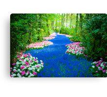 Flower Path @ Keukenhof Canvas Print