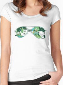 Nature Vision™ Women's Fitted Scoop T-Shirt