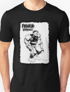Franken Fuhrer (Bordered) T-Shirt