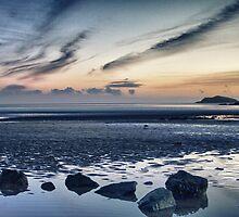 Solway Blues Sunset by derekbeattie