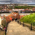 Top of the Whitby Steps by Tom Gomez