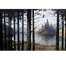 Hogwarts Through the Trees Photographic Print