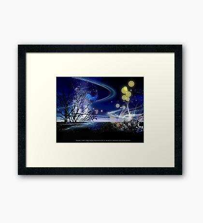 Carnival of the light Framed Print