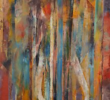 Elephant Abstract by Michael Creese