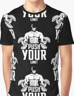 Roronoa Zoro Train Hard And Push Your Limit  Graphic T-Shirt