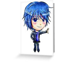 Zero Chibi Greeting Card