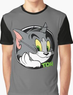 Tom Funny Graphic T-Shirt