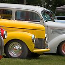 Hot Rod line up  by chuckbruton