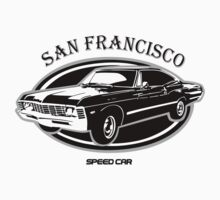 San Francisco High Speed Car Kids Clothes