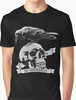 The Expendables (Design Distort Motif) Graphic T-Shirt