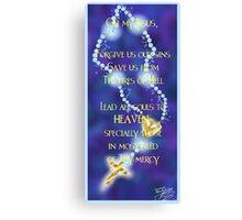Rosary Prayer Canvas Print