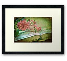 The Gardening Diary Framed Print