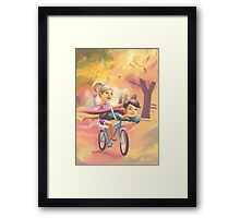 We Played In The Sun 'Super Heroes' Framed Print