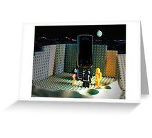 Moon Monolith Greeting Card