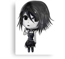 Rose Chibi Metal Print