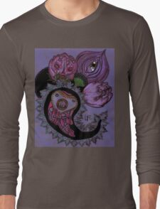 Poisonous Paisley: the Corpse Flowers Long Sleeve T-Shirt