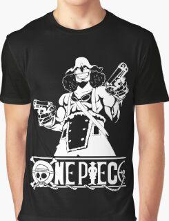 Guns And Usopp (Custom Funny) Graphic T-Shirt