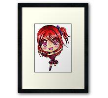 Niri Chibi Framed Print
