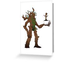 Treebeard and Baby  Greeting Card