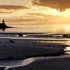 Sunset Port Logan by derekbeattie