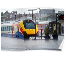 A Wet Day At The Station..... Poster