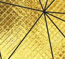 Geo Heart - Gold Foil Sticker