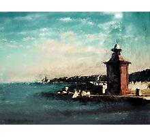 Port of Piran Photographic Print