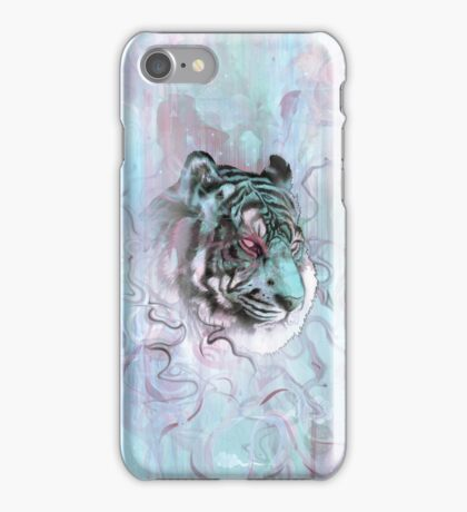 Illusive by Nature (blue) iPhone Case/Skin