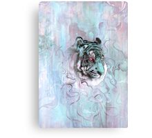 Illusive by Nature (blue) Canvas Print