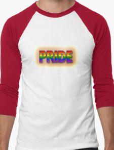 Rainbow PRIDE - Orange Men's Baseball ¾ T-Shirt