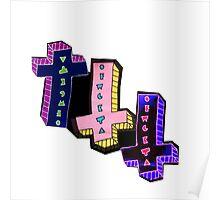 OFWGKTA Cross Odd Future Logo Poster