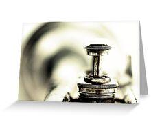 "Listening to ""Ascenseur pour l'échafaud"".... Greeting Card"
