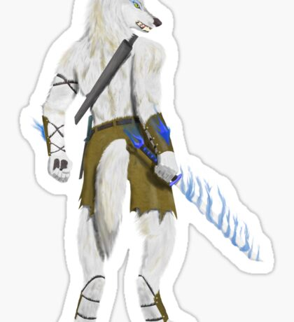 Werewolf Mage Sticker