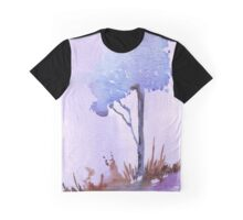The lonely Blue gum Graphic T-Shirt