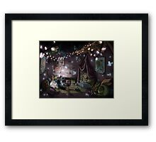 Secret Base Framed Print