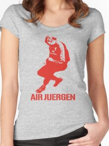 The Air Juergen Klopp Tees Women's Fitted Scoop T-Shirt