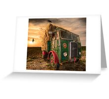 Summers Harvest Greeting Card