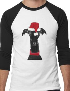 greyhound xmas Men's Baseball ¾ T-Shirt
