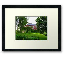 The House Of An Artist Framed Print