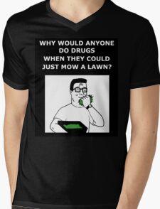 Hank Hill - Why Do Drugs? Mens V-Neck T-Shirt