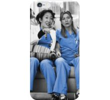 Mer and Cristina - Derm iPhone Case/Skin
