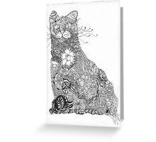 Pinwheels, roses, shells Greeting Card